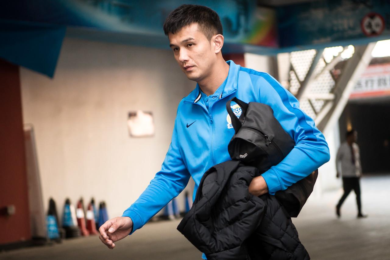 肖智正在泰山队试训,可能会在对阵国足热身赛中登场-建业V